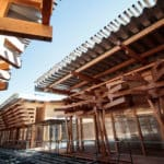 Tokyo 2020's Olympic Plaza Made From Donated Wood