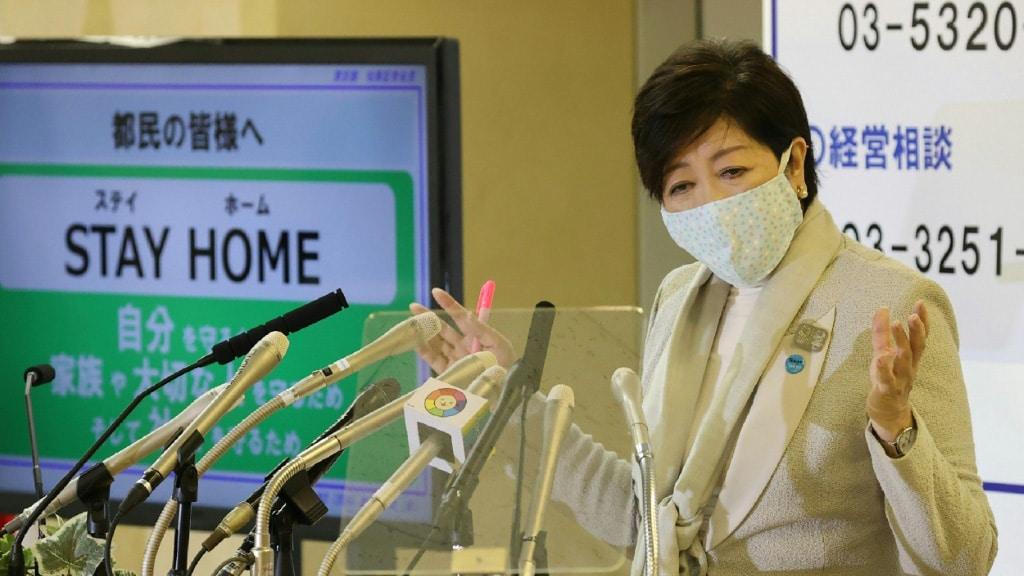 Tokyo Governor Yuriko Koike.afp