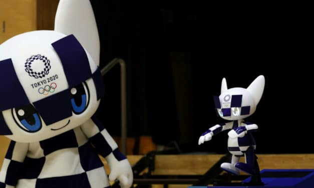 Olympic Robot Mascots Debut in Tokyo