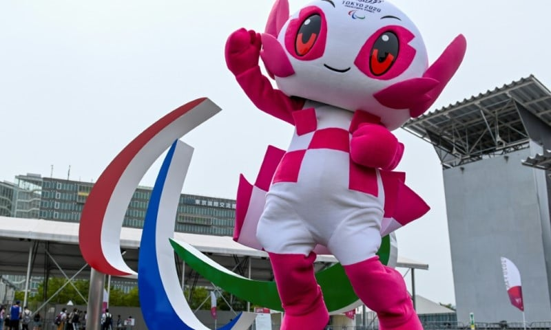 Tokyo's Paralympic Mascot Someity
