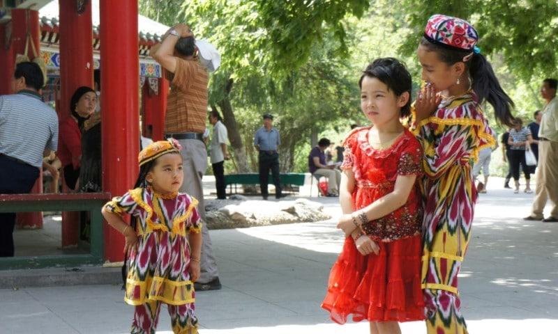Traditional Uyghur Neighborhood