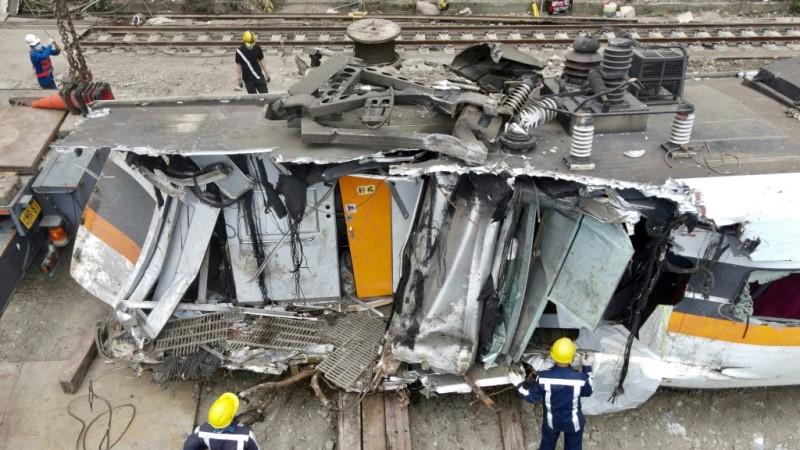 Train Crash in Taiwan