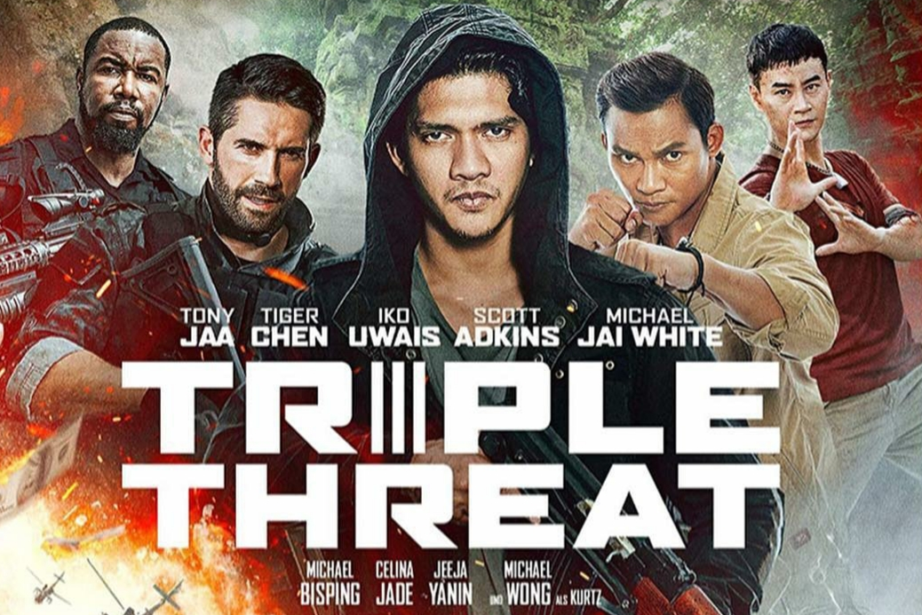 Triple Threat Poster - Indonesia