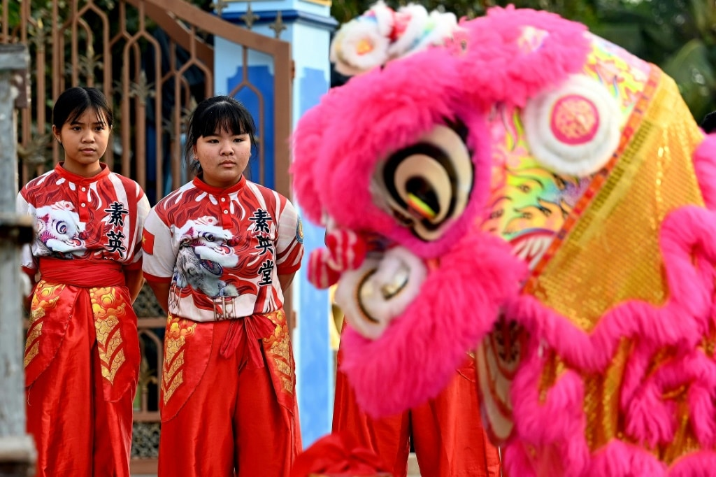 Tu Anh Duong Lion and Dragon Dance Troupe