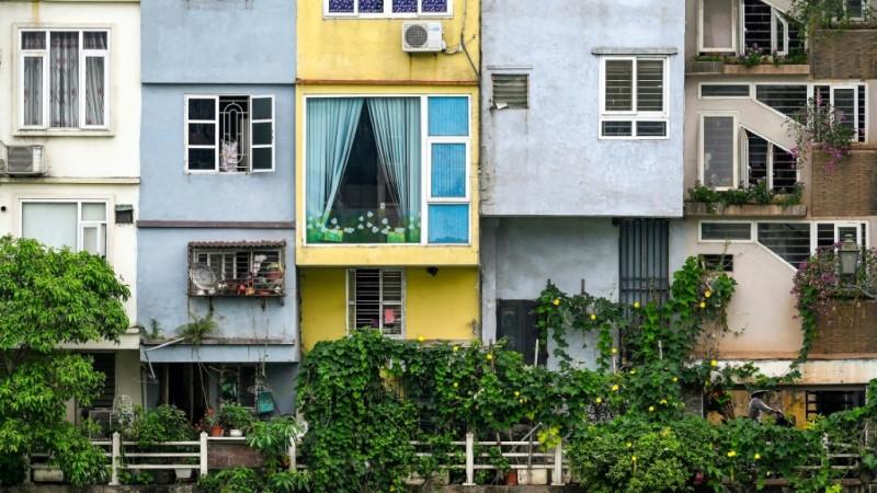 Tube Houses in Vietnamese Cities