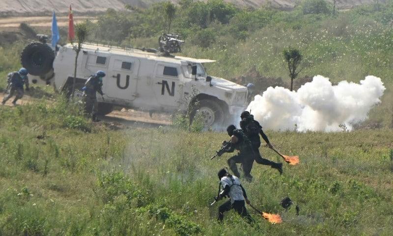 UN Soldier Role-playing Scenario