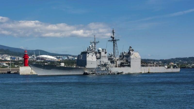 US Cruiser USS Antietam