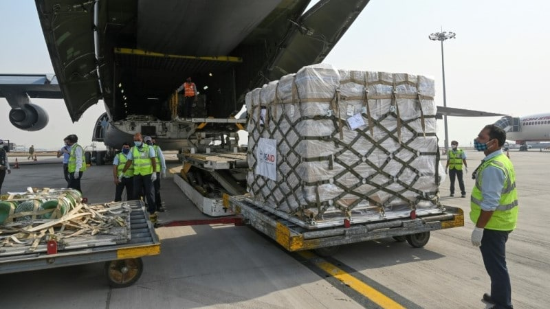 US Emergency Aid to India