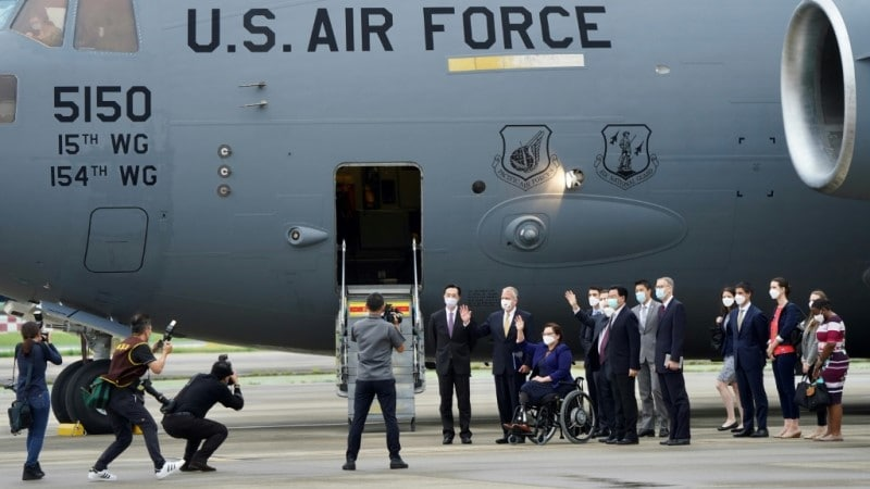 US Senators Visit to Taiwan