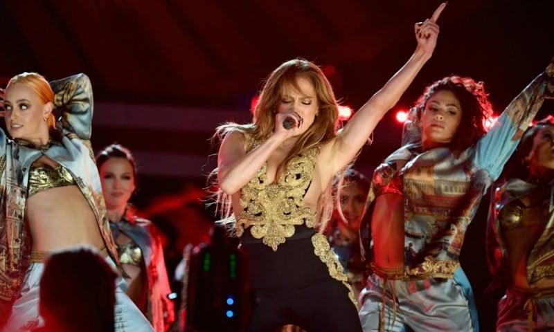 US Singer Jennifer Lopez