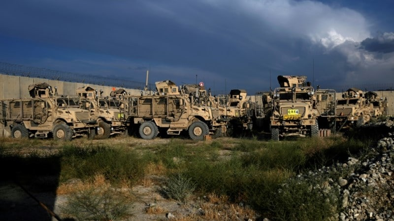 US military Withdrawal in Afghanistan