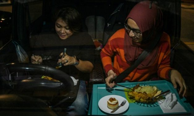 Lockdown-Weary Malaysians Get Appetite for Drive-In Dining