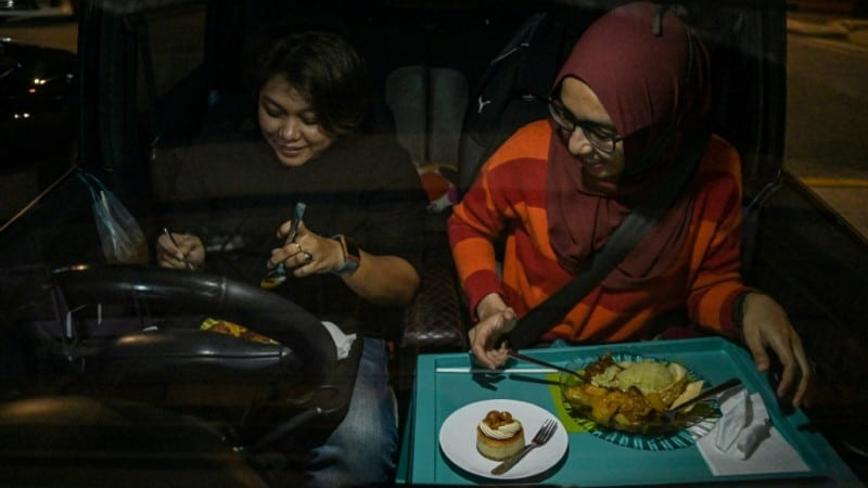 Unusual Eating-out Experience
