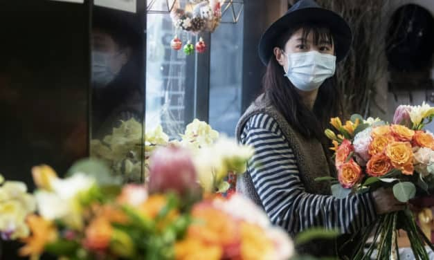 A Quiet Valentine's Day in China as Businesses Around the Country are Shut Down