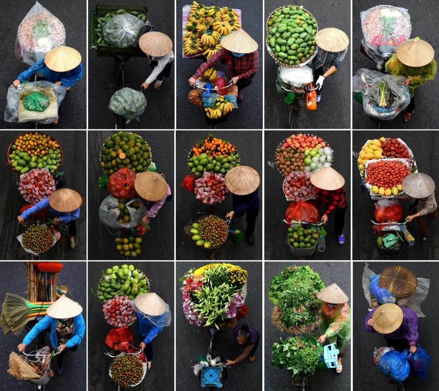 Vendors in Hanoi