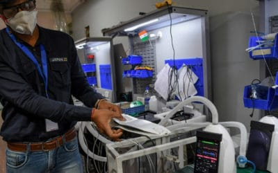 Toaster-Sized Ventilator From India Helps Hospitals in Virus Fight
