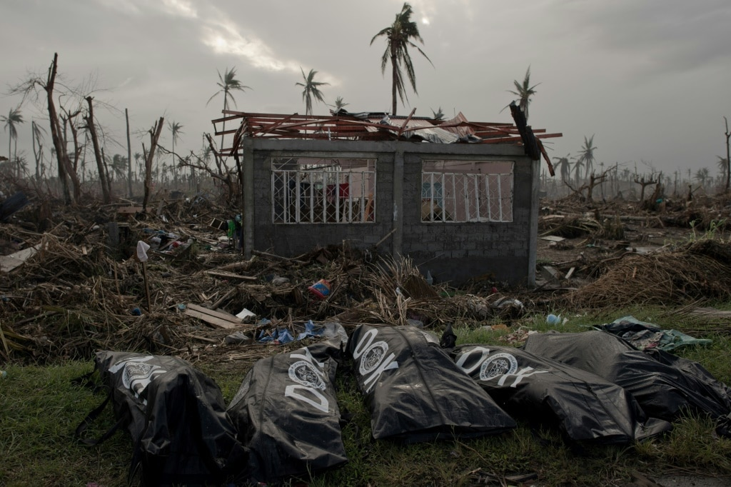 Victims of Typhoon Haiyan