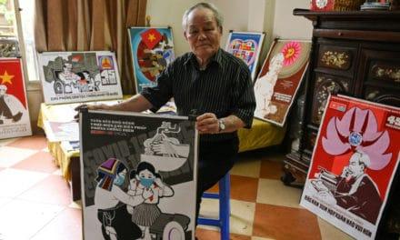 Vietnam Draws on Propaganda Artists in Battle Against Virus
