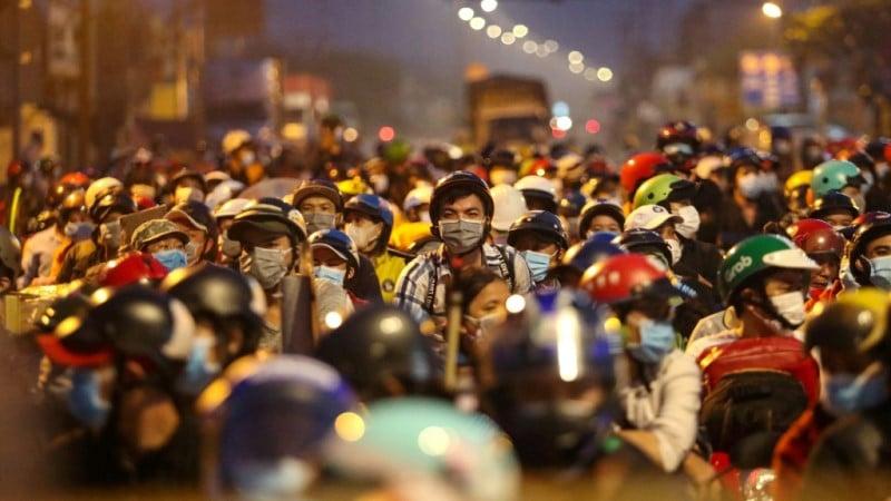 Vietnam crowd