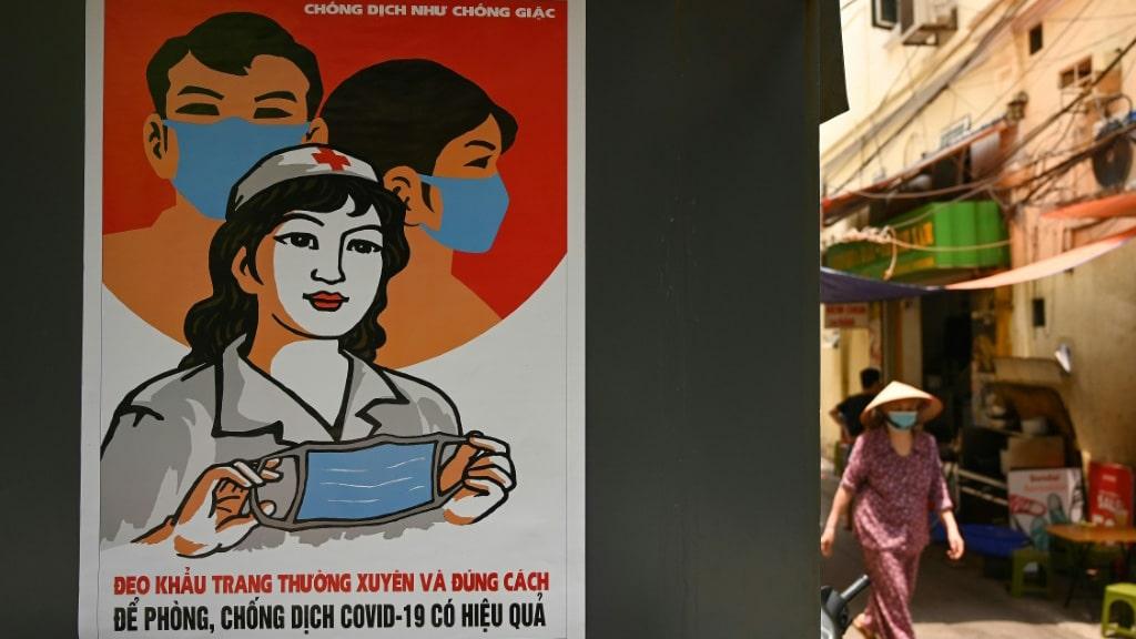 Vietnamese Communist Propaganda Art.afp