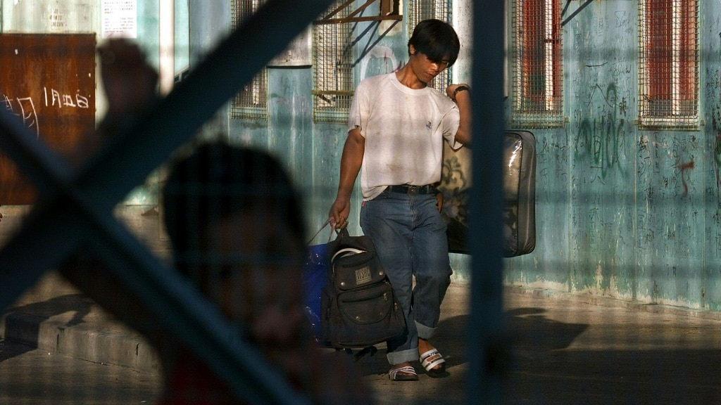 Vietnamese Refugees Placed in Camps in Hong Kong.afp