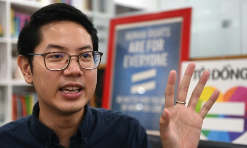 Vietnam's Gay Candidate Luong The Huy
