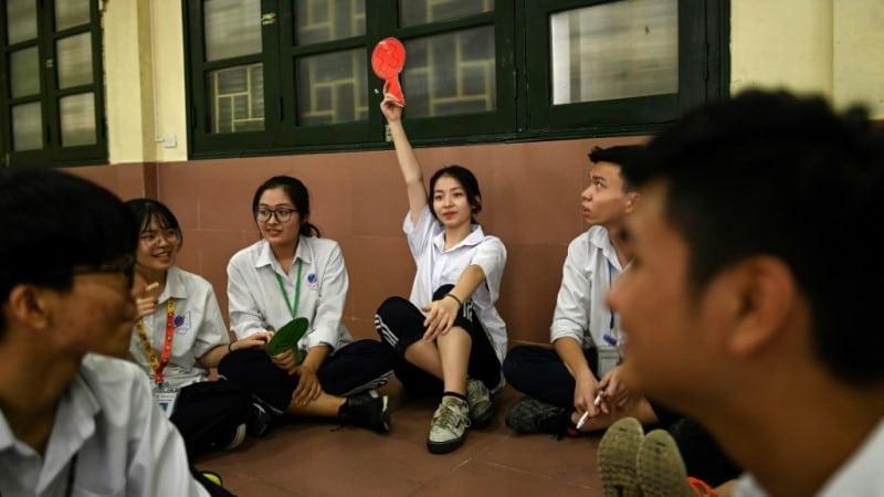 Vietnam's Young Population.afp