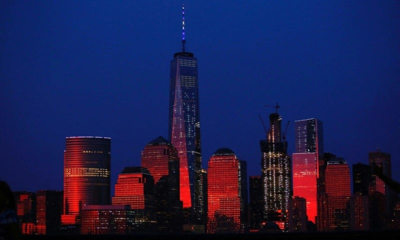 View of One WTC