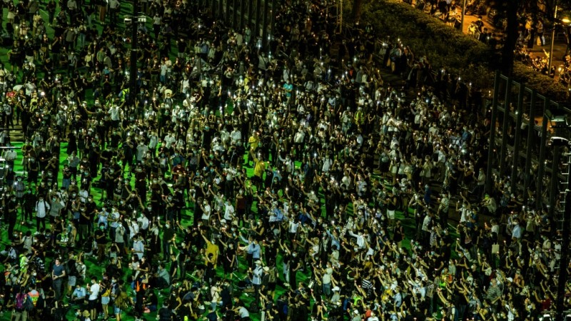Vigil for 1989 Tiananmen Square Crackdown