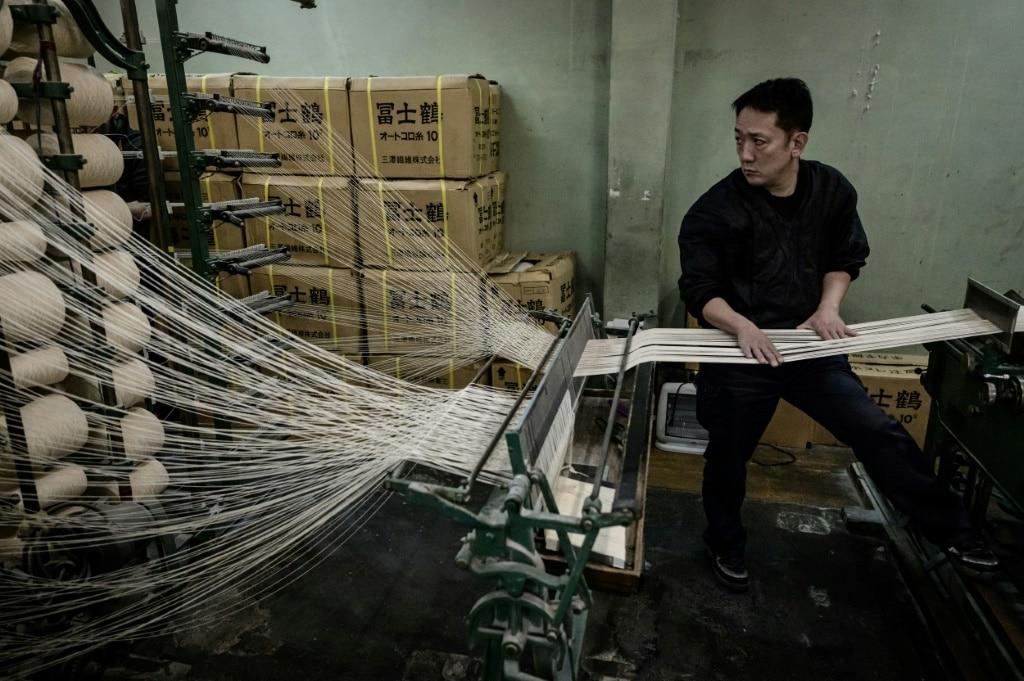 Vintage Weaving Machines