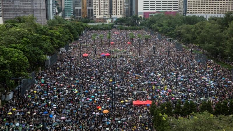 Violent Democracy Protests