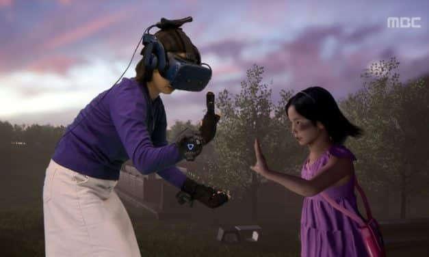 Tearful Reunion of Mother and Dead Daughter via Virtual Reality