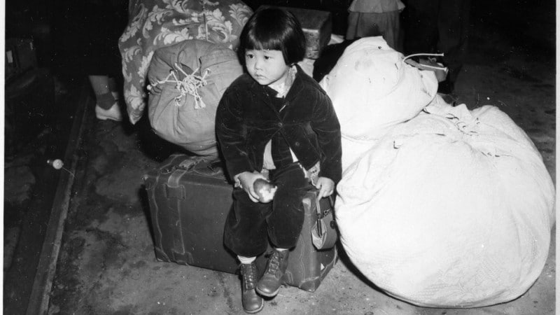 WWII Japanese-American Woman