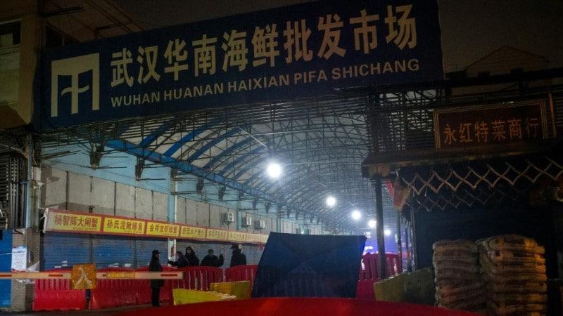 Wet Market in Wuhan