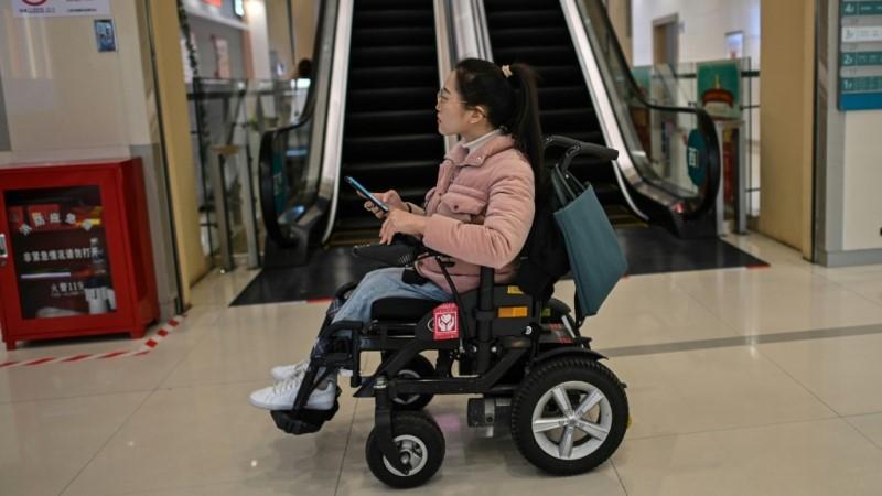 Wheelchair User Zhao Hongcheng