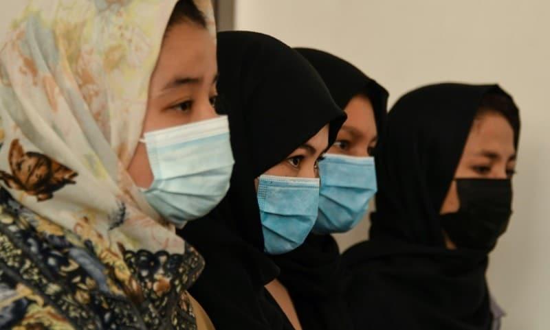 Women Taekwondo Athletes in Afghanistan