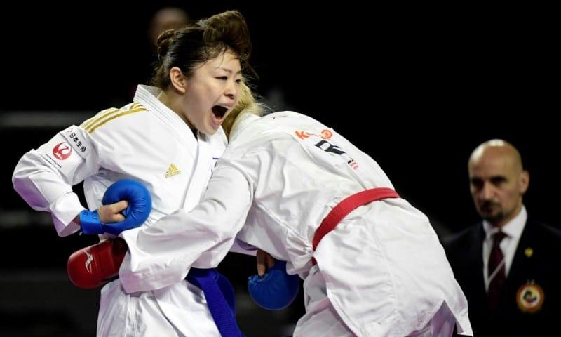 World Champion Ayumi Uekusa