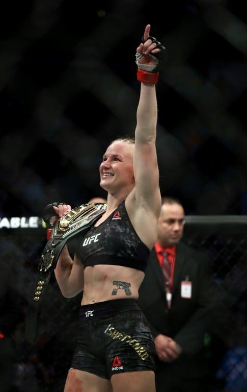 World Champion Valentina Shevchenko