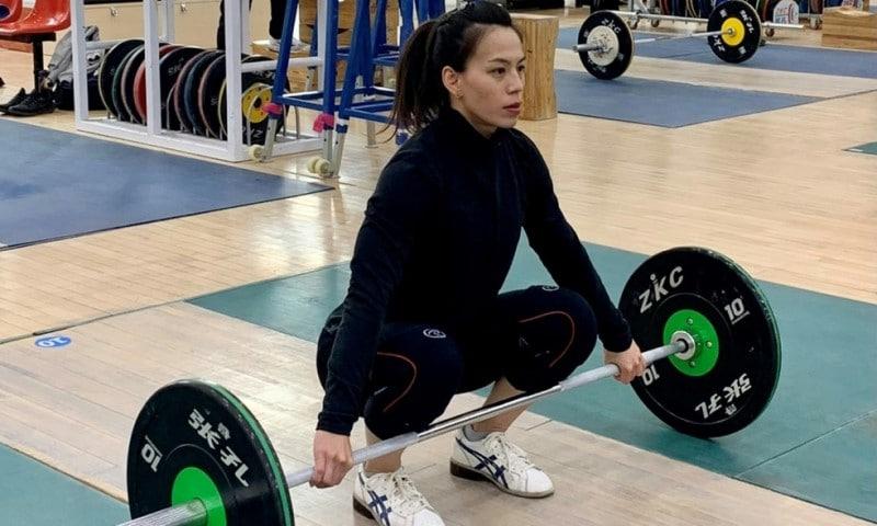World Record Holder Kuo Hsing-chun