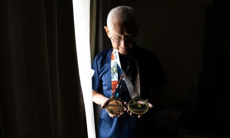 World's Oldest Ironman Hirumo Inada
