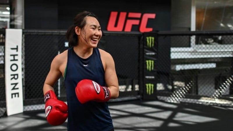Yan Xiaonan Chinese UFC Fighter