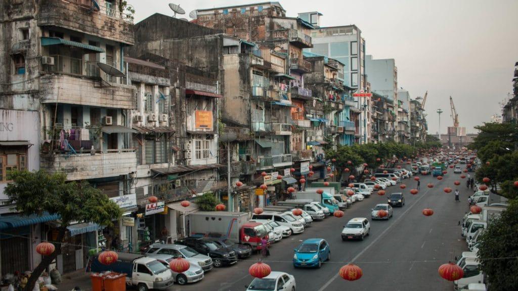 Yangon, Chinatown, Myanmar - ©LWYang