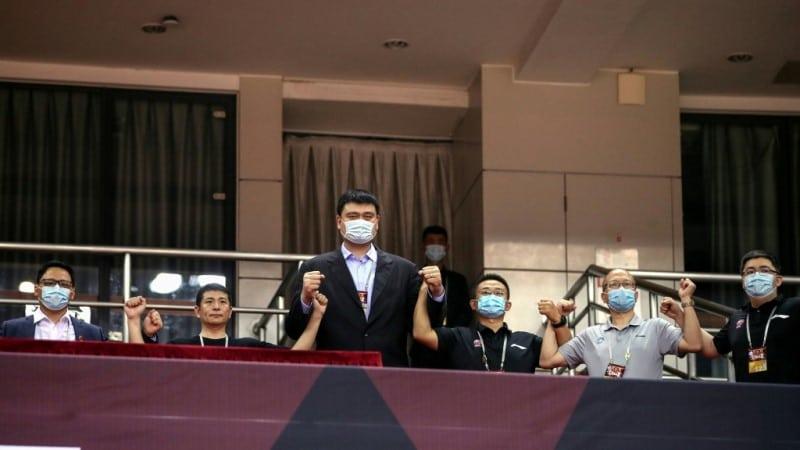 Yao Ming President of CBA.afp