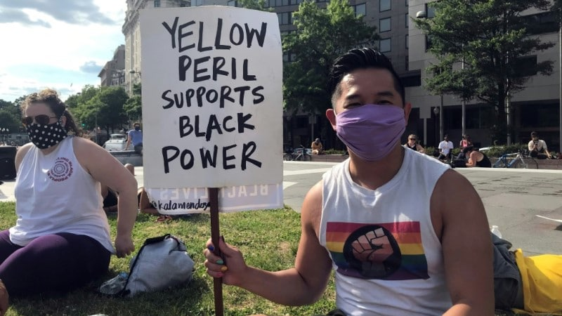 Yellow Peril Support Black Lives Matter.afp