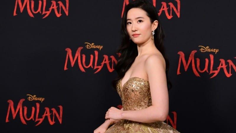 Yifei Liu at Mulan Premiere