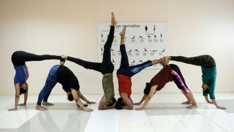 Yoga Students in Alabama