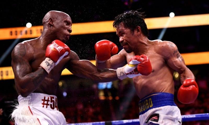 Yordenis Ugas Fights Manny Paquiao