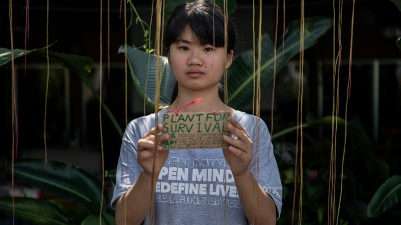 Young Chinese Climate Activist