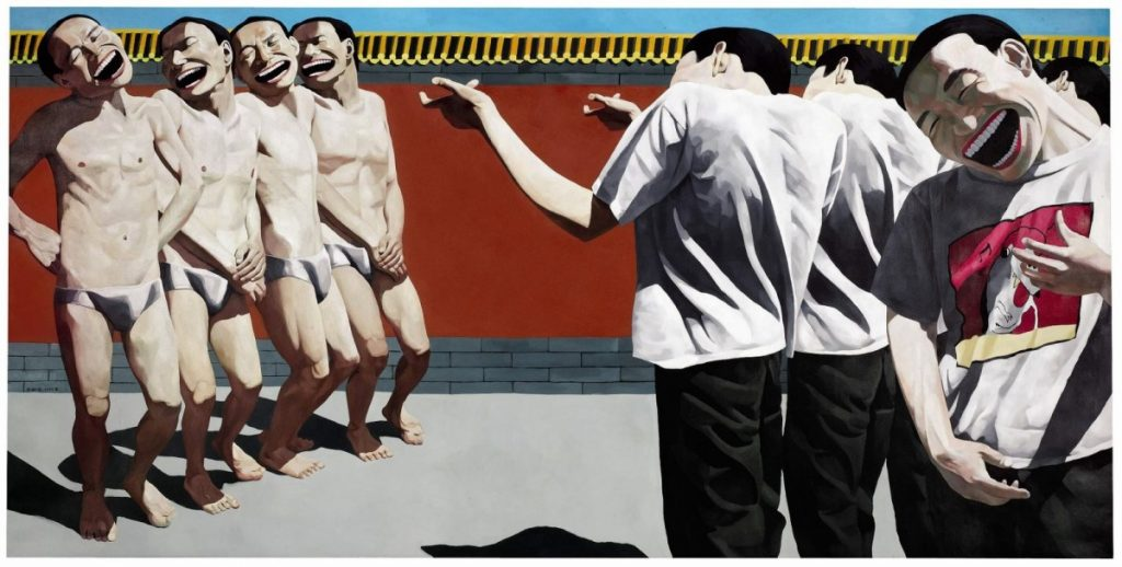 Painting 'Execution' by | Yue Minjun