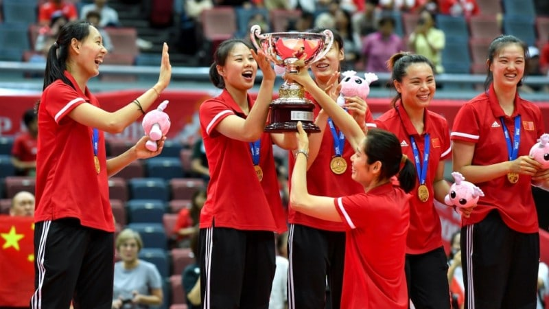 Zhu Led China to Victory Last Year in Osaka Japan.afp